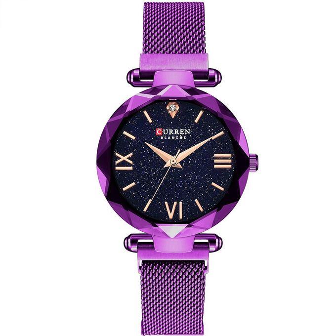curren_montre_femme_-_c9063l_-_bracelet_acier_inoxydable_-_violet