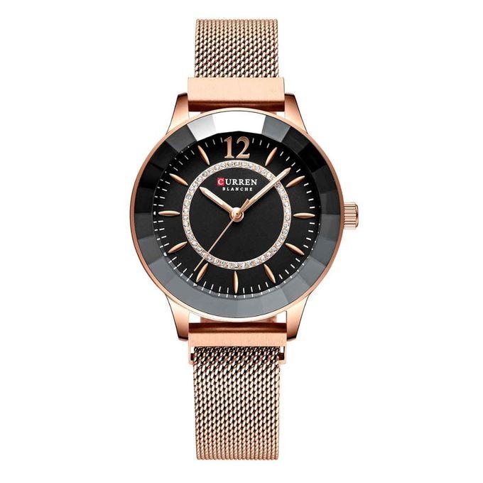 curren_montre_femme_-_m9066_-_bracelet_acier_inoxydable_-_rose_noir