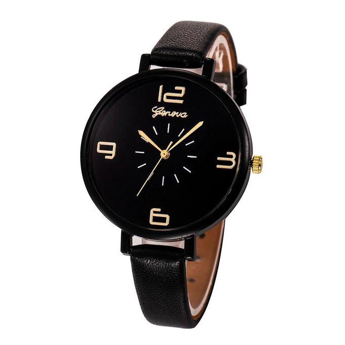geneva_montre_femme_-_alliage_-_bracelet_en_cuir_-_noir