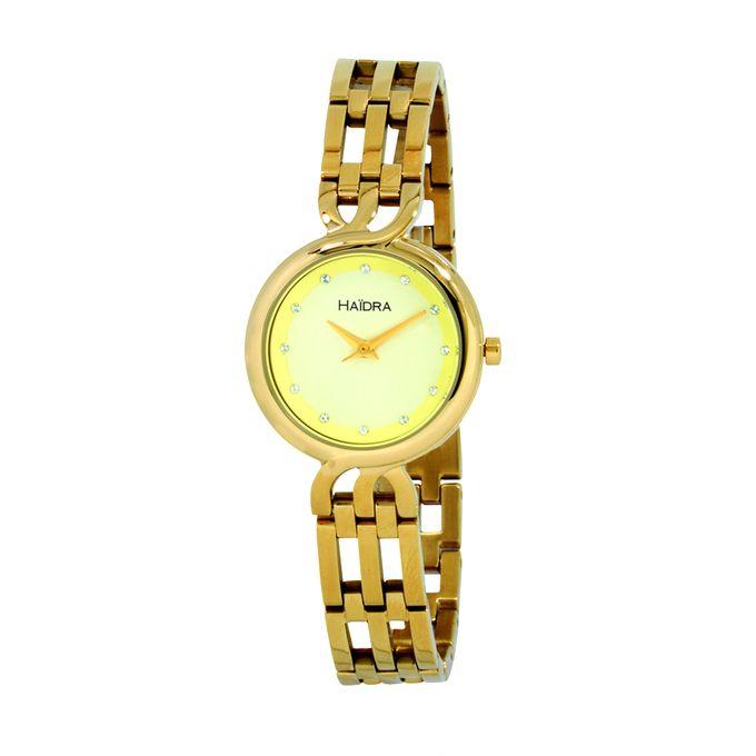 haidra_montre_femme_-_bracelet_en_acier_inoxydable_-_dor