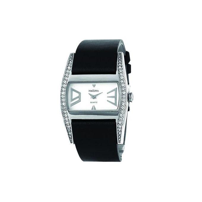 haidra_montre_femme_-_bracelet_satin_-_noir
