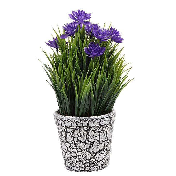 plante_artificielle_-_en_pot_de_fleure_-_violet